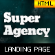 Super Agency - Responsive Landing Page - ThemeForest Item for Sale