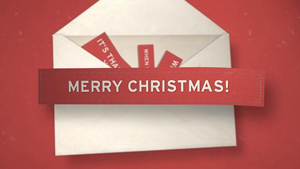 VideoHive Christmas Envelope 3523491