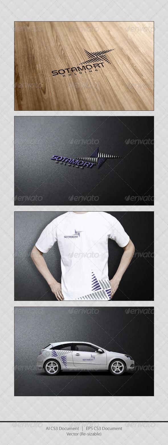 GraphicRiver Sotamort Logo Templates 3530077
