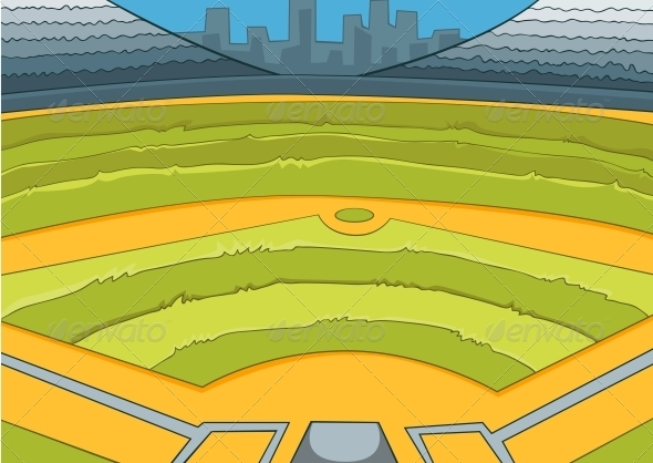baseball stadium graphicriver