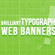 Typograph Web Banners - GraphicRiver Item for Sale
