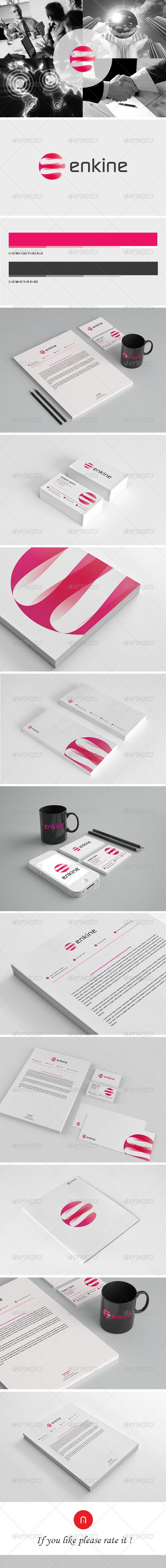 GraphicRiver Stationary & Brand Identity Enkine 3531699