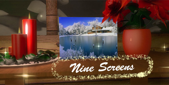 VideoHive Christmas Themed Displays 3469054