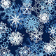 Seamless Snowflake Pattern - GraphicRiver Item for Sale