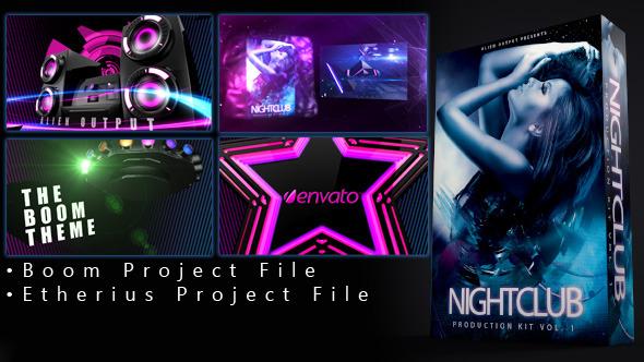 VideoHive Nightclub Production Kit Vol 1 3509490