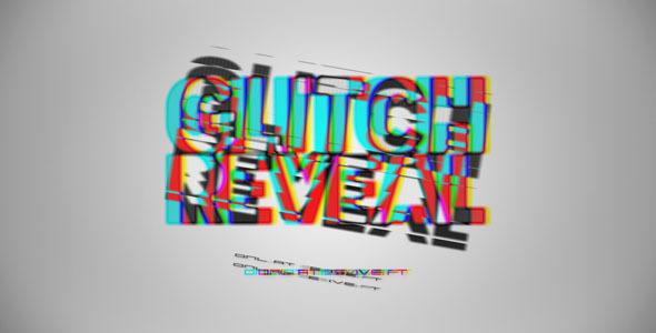 VideoHive Glitch Reveal 3536292