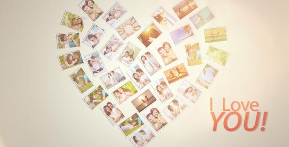 VideoHive Happy Love Frames 3514828