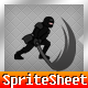 Ninja Runner Sprite Sheet with Cocos2D Coordinates - GraphicRiver Item for Sale