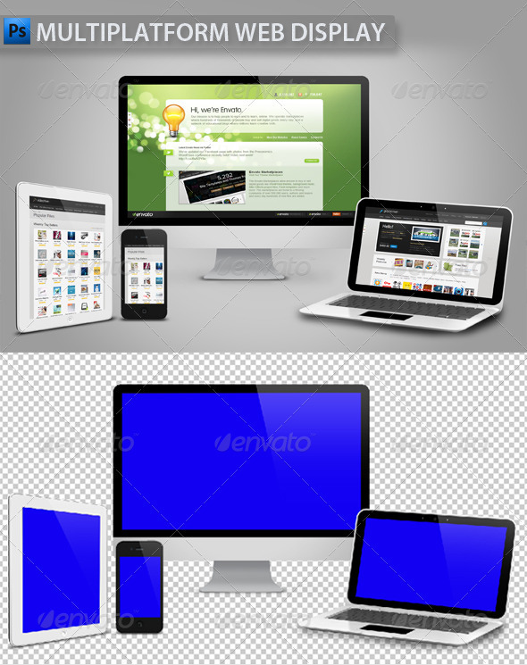 GraphicRiver Multiplatform Web Display 968628