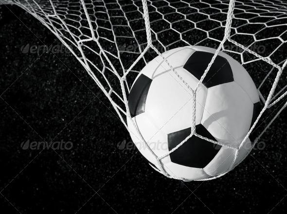 Black And White Soccer Goals 94