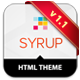 Syrup Responsive HTML Theme - ThemeForest Item for Sale
