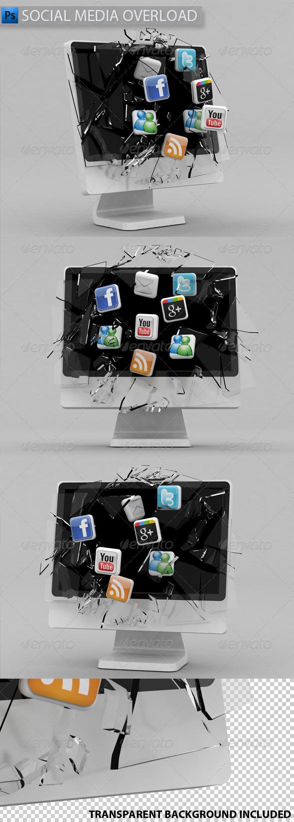 GraphicRiver Social Media Overload 1611933