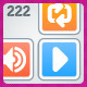 222 AI Malibu Player icons - GraphicRiver Item for Sale