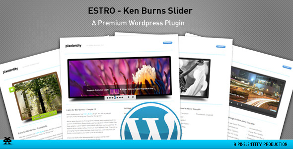 CodeCanyon Estro jQuery Ken Burns slider wordpress plugin 356713