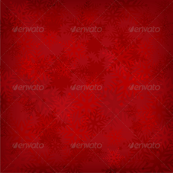 GraphicRiver Snowflake Background 3547404