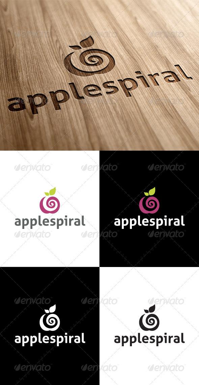 GraphicRiver Apple Spiral Media Logo 3547936