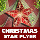 Christmas Star Flyer Template - GraphicRiver Item for Sale