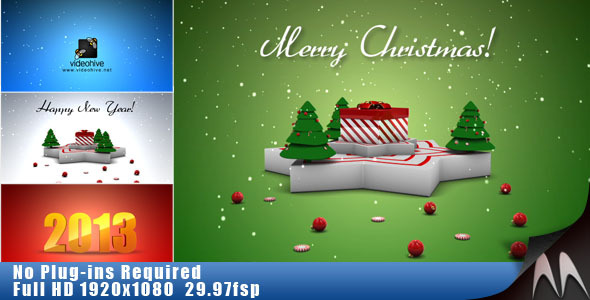VideoHive Christmas & New Year Gift 3532836