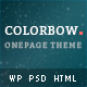 Colorbow - A Onepage Creative Portfolio Theme - ThemeForest Item for Sale