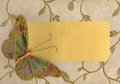 Butterfly in Fabric on Textile 3 - PhotoDune Item for Sale