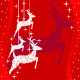 Red Christmas Deer Greeting Card - GraphicRiver Item for Sale