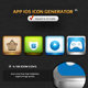 App 4 Icon  - GraphicRiver Item for Sale