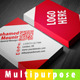 Multipurpose Business Card 2 - GraphicRiver Item for Sale