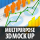 Multipurpose 3D Mock Up - GraphicRiver Item for Sale