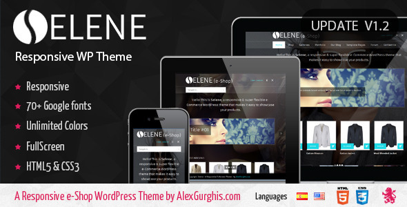 ThemeForest Selene Fullscreen Premium WordPress Theme 2705391