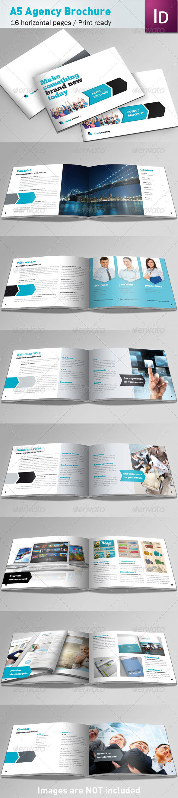 GraphicRiver Agency Brochure A5 540007