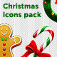 Christmas icons pack - GraphicRiver Item for Sale