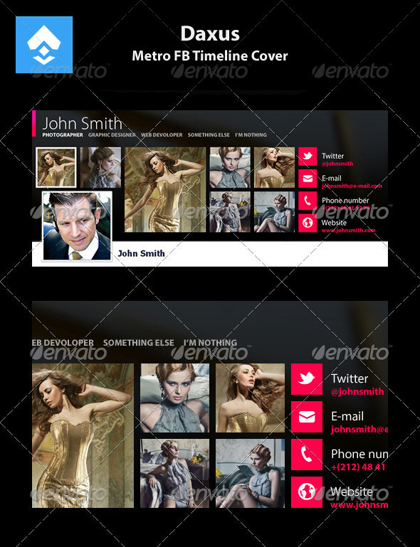 GraphicRiver Metro FB Timeline Cover 2941470