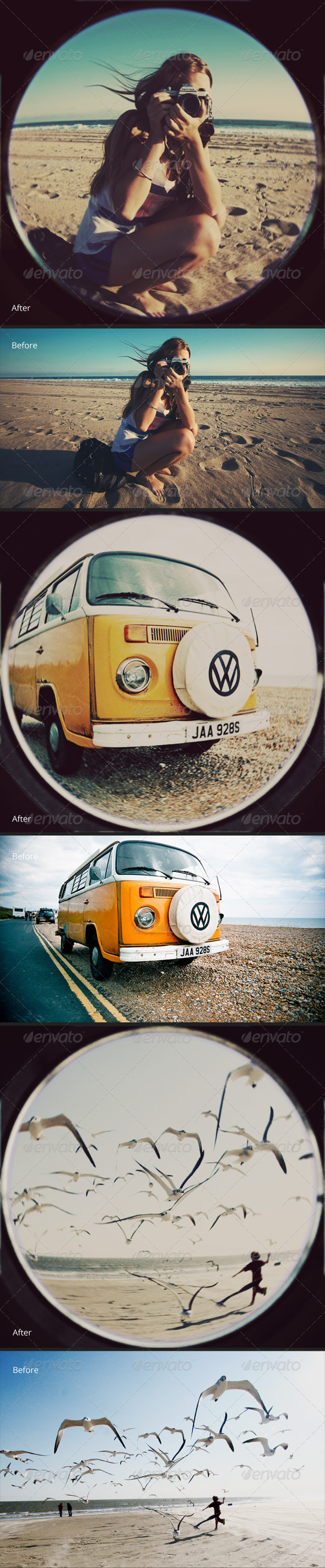 GraphicRiver Old Fisheye Lens Effect 3598757
