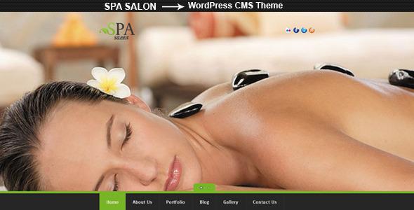 ThemeForest SPA SALON Creative WordPress CMS Theme WordPress Retail Health & Beauty 3600987