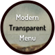 Modern Transparent Menu - CodeCanyon Item for Sale