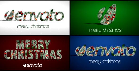 VideoHive Christmas Logo 3607508