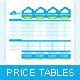 Cloudy Price Table - GraphicRiver Item for Sale