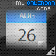 XML Calendar Icons - ActiveDen Item for Sale
