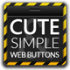 Cute & Simple Web UI Buttons Kit - GraphicRiver Item for Sale