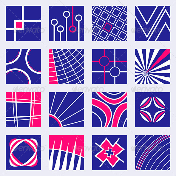 GraphicRiver Abstract Designs Set 3638632