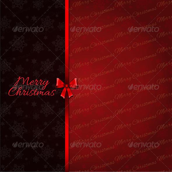 GraphicRiver Christmas Background 3638842