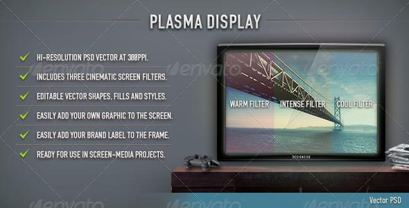 GraphicRiver Plasma Display 78408