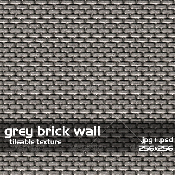 Cartoon Image Of Grey Brick Wall » Dondrup.com