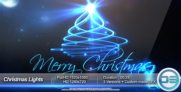 VideoHive Christmas Lights 3649071