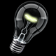 Keyable Rotating Lightbulb With Alpha - VideoHive Item for Sale