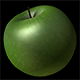 Keyable Rotating Green Apple With Alpha - VideoHive Item for Sale