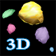 Falling 3D Rocks - ActiveDen Item for Sale
