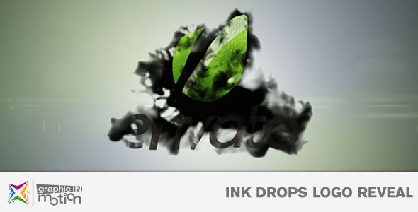 VideoHive Ink Drops Logo Reveal 3642245