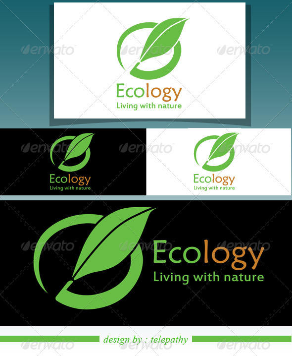 GraphicRiver Ecology Logo 3551608