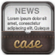 Newspaper, Article Mock Up  in Leather Case - GraphicRiver Item for Sale